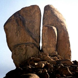 The Split Rock of Horeb