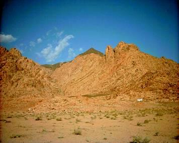 volcano | The True Mount Sinai
